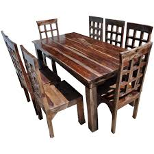 dining room tables rustic dining table and chair sets sierra living concepts