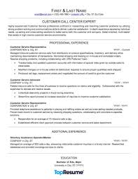 Sample Resume Of Customer Service Representative by Call Center Resume Sample Professional Resume Examples Topresume