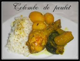 cuisine antillaise colombo de poulet colombo de poulet fait maison par lilouina
