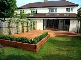 outdoor deck plans photos best decking ideas on garden raised beds