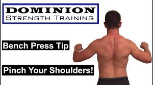 Bench Press Shoulder Impingement Training Tip Tuesday Increase Your Bench Press Pinch Your
