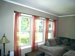 Large Window Curtain Ideas Designs Window Treatments For Large Windows Onewayfarms