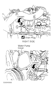 nissan 350z water pump 2001 nissan quest serpentine belt routing and timing belt diagrams