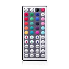 Led Light Strip Controllers by 44key Ir Remote Controller For Rgb Led Strip Lights 4 Pin Dc12v