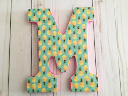 8 ways to makeover a wood letter with mod podge cathie filian