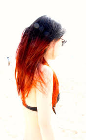167 best red orange ombre hair images on pinterest hairstyles
