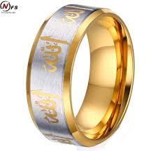 muslim wedding ring online shop nfs 1 pair muslim ring islamic shahada turkey