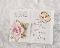 wedding wishes bible verse bible wedding cake topper wedding collectibles