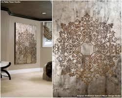 metallic home decor wall art decor captivating metallic elegant wall art modern