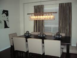 Dining Room Lights Contemporary Dining Room Chandeliers Contemporary With Nifty Rectangle Dining