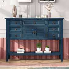 buffet sideboard cabinet storage kitchen hallway table industrial rustic 45 console table with drawers farmhouse entryway tables buffet sideboard accent entry table wood console sofa table foyer table for living room