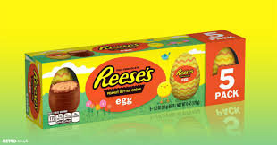 reese easter egg reese s is now doing a peanut butter creme egg metro news
