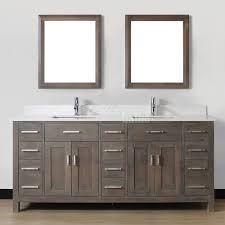 gray stained bathroom cabinets best bathroom decoration