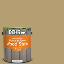 behr 1 gal sc 145 desert sand solid color house and fence wood