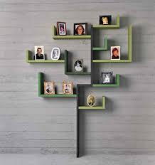 creative shelving furniture accessories creative diy wood wall shelves unqiue green