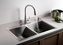 Faucet And Soap Dispenser Placement Faucets Kitchen Peerless Kitchen Faucet Soap Dispensers Delta