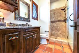 Mexican Bathroom Mexican Bathroom Bathroom Mediterranean With Decorative Tile