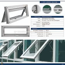 yy construction aluminum window louver awning window with mostiquo
