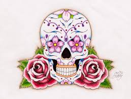 sugar skull by sissyempress999 on deviantart