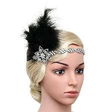 1920s hair accessories babeyond vintage 1920s flapper headband roaring 20s great gatsby