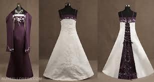 purple white wedding dress some of the most stylishly designed purple and white wedding