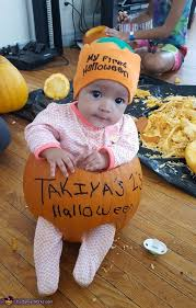 Baby Halloween Costumes Pumpkin Pumpkin Seed Baby Halloween Costume