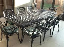 wrought iron patio dining set patio round patio table sets round