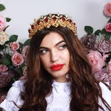 wedding crowns elisabella baroque crown wedding crowns bridal hair accessories