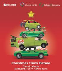 christmas trunk bazaar at circulo verde u2013 metro savvy