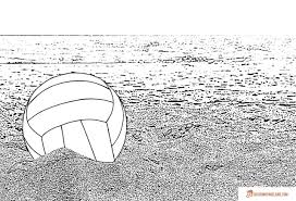 beach coloring pages free printable outline pictures