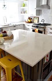 kitchen renovation choosing a quartz countertop jenna burger