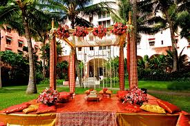 wedding decoration ideas reception stage indian wedding