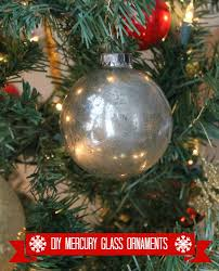wonderfully made diy mercury glass ornaments