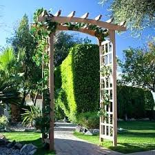 wedding arches bunnings trellis arch garden archway with gate gated arbor arch wedding