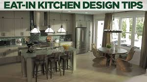 eat in kitchen design ideas u0026 decorating hgtv