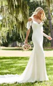 wedding dresses the shoulder sleeves the shoulder sheath wedding dress martina liana wedding dresses