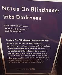 History Of Blindness Notes On Blindness U2013 Medium