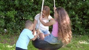 homemade tire swing in backyard 4 stock video footage videoblocks