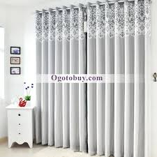 modern luxury room darkening soundproof thermal curtains buy grey