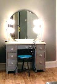 Bedroom Makeup Vanity With Lights Modern Bedroom Vanity Tables Makeup Vanity Set With Lighted Mirror