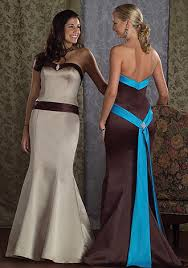 brown wedding dresses brown bridesmaid dresses