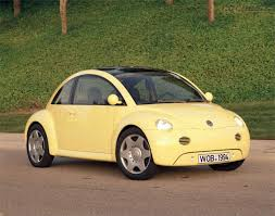 used yellow volkswagen beetle for concept car of the week volkswagen concept 1 1994 car design news