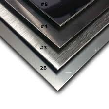 Stainless Steel Questions Faqs About Stainless Steel Shine It Guide To Stainless Steel Sheet Finishes Mill Polished Brushed