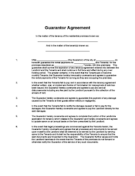 guarantee agreement template 28 images sle agreement 20 exles