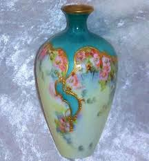 Antique China Vases 66 Best Limoges Vases Images On Pinterest Hand Painted China