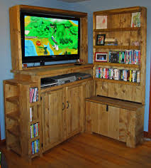 furniture interesting rustic entertainment center for