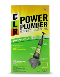 Amazon Com Clr Power Plumber Pressurized Drain Opener Plunger Kit