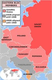 Cold War Germany Map by The Balkans In The Cold War Thinglink
