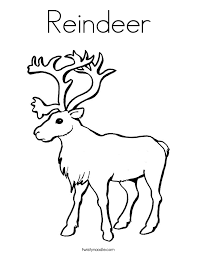 classy inspiration reindeer coloring pages rudolph santa