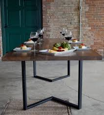 wood table with metal legs surprising dining table designs to best 25 dining table legs ideas